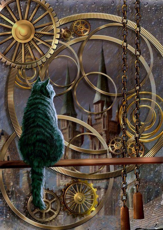 Steampunk Tendencies | Wainting for the rainbow Art : Yuri Platov ...