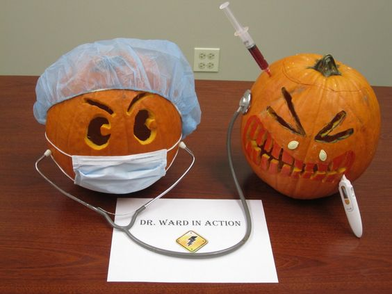 The Ward in Action | Pumpkin Carving | Halloween