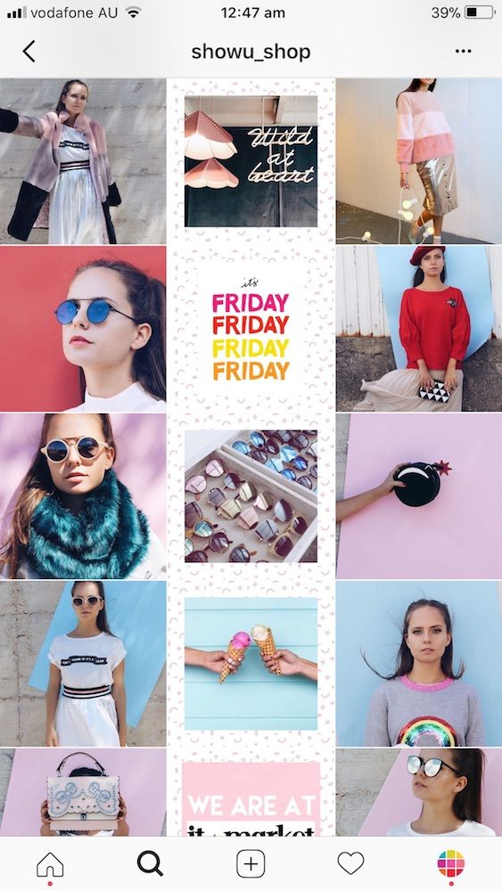 11 Brilliant Instagram Feed Ideas For Shops Tips Instagram Feed Ideas Instagram Feed Instagram Theme Feed