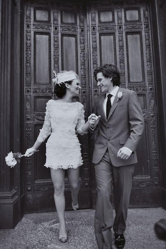 engagement, courthouse wedding, wedding ceremony, wedding style, wedding couple, bride and groom