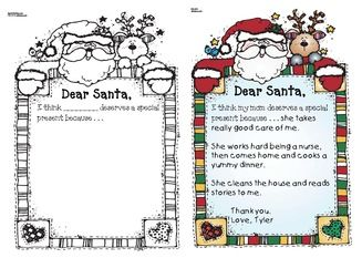 creative writing letters to santa Christmas worksheets for teaching esl a template for writing a letter to santa these three creative writing prompts explore the themes of a santa rescue.