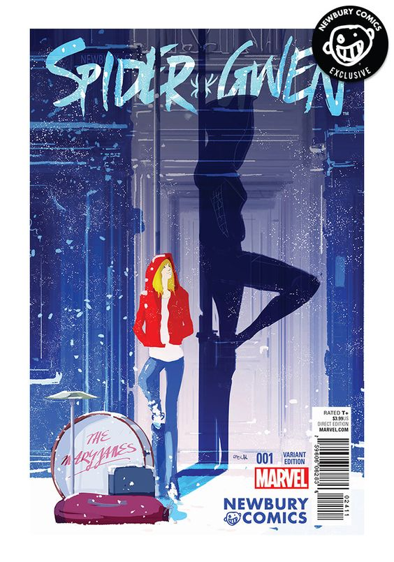 Spider-Gwen #1 - Pascal Campion Exclusive Cover