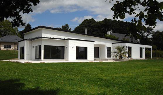 Exceptionnel Réalisations de maisons - Groupe Trecobat | maisons toit plat  BK77