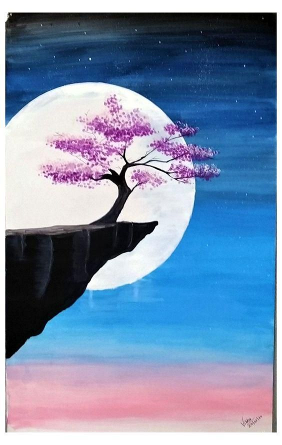 Landscape Painting Easy