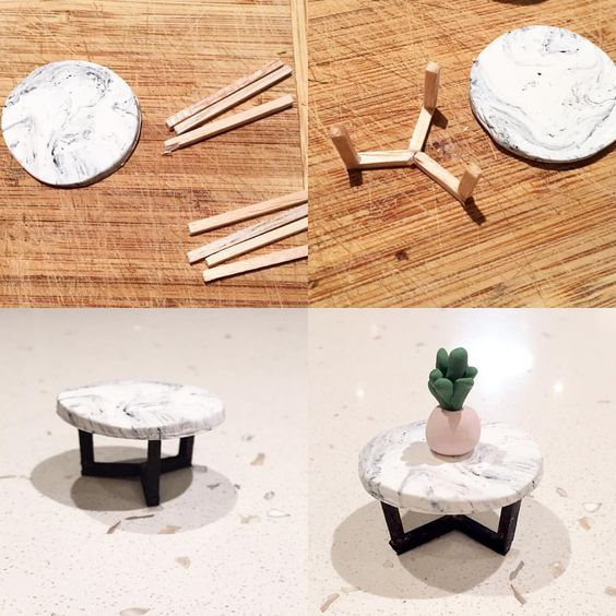 How to Make Modern Dollhouse Furniture  M A K E  Pinterest  The