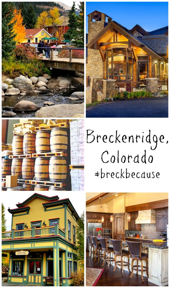 Food, Friends, and Travel - The Breckenridge, Colorado Edition!