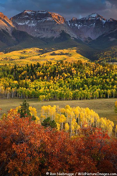The San Juan Mountains, Colorado, one of the natural attractions we see on our USA Coast to Coast tour