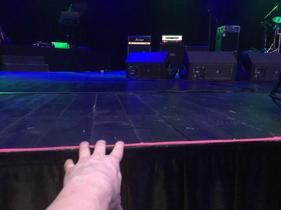Расстояние до сцены