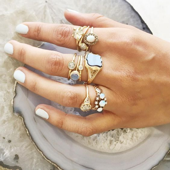 Lauren Wolf knows how to build a mean ring stack. Not only does the designer dream up her own collection of stunning jewelry, like rough diamonds set in claw like 18k gold settings, she curates an insane selection of jewelry and objects, from other masterly peers, in her Oakland and Los Angeles:
