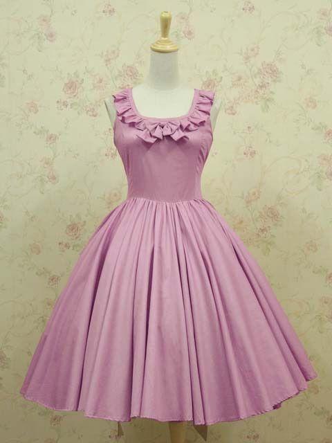 Pink Oversized Sleeveless Ruffled Bow Elegant Slim Dress HL010 plus5x(SZ 32-34)