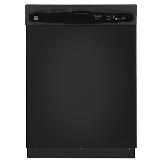 Kenmore Kenmore 13809 Dishwasher With Grey Tub Heated Dry Black Exterior With Plastic Interior Tub At 56 Dba Black Dishwasher Built In Dishwasher Kenmore