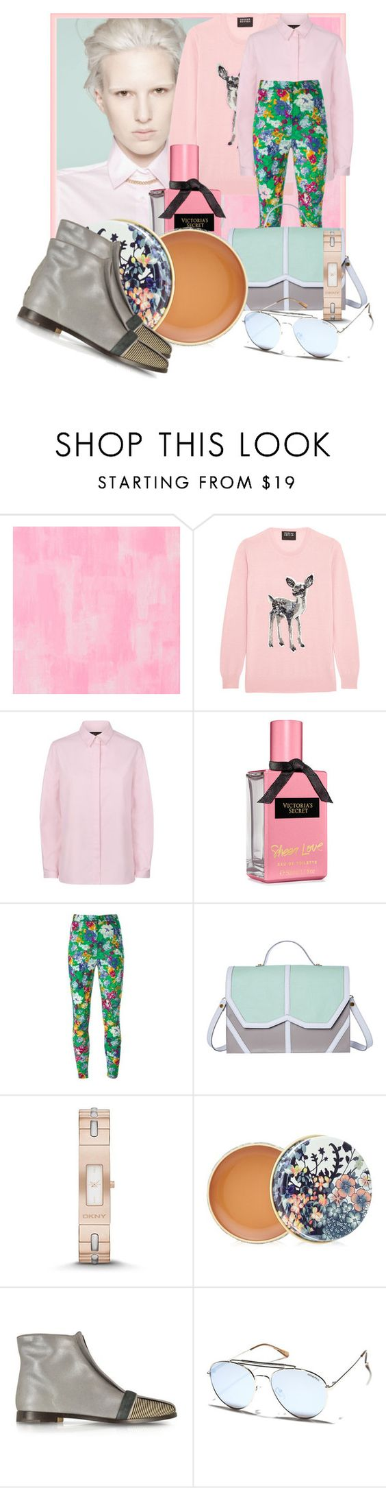 """Ma Vie en couleur /trois🎇"" by deloysfashions ❤ liked on Polyvore featuring Designers Guild, Markus Lupfer, Jaeger, Kenzo, Emeline Coates, DKNY, Paul & Joe, Zoe Lee and MINKPINK"