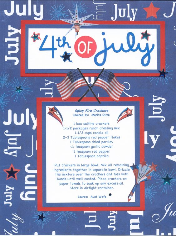 4th of July - Spicy Fire Crackers