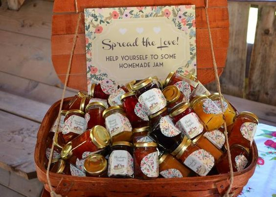 Image result for Homemade Preserves as wedding gifts