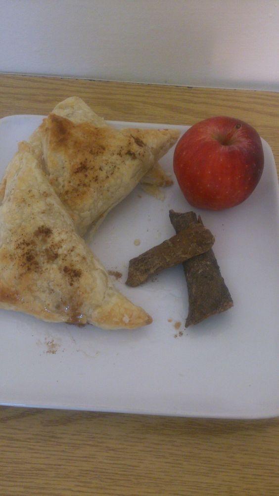 باف باستري محشو بالتفاح و القرفة و طريقة تقديم رائعة من زنوبة Foodie Food Kitchen