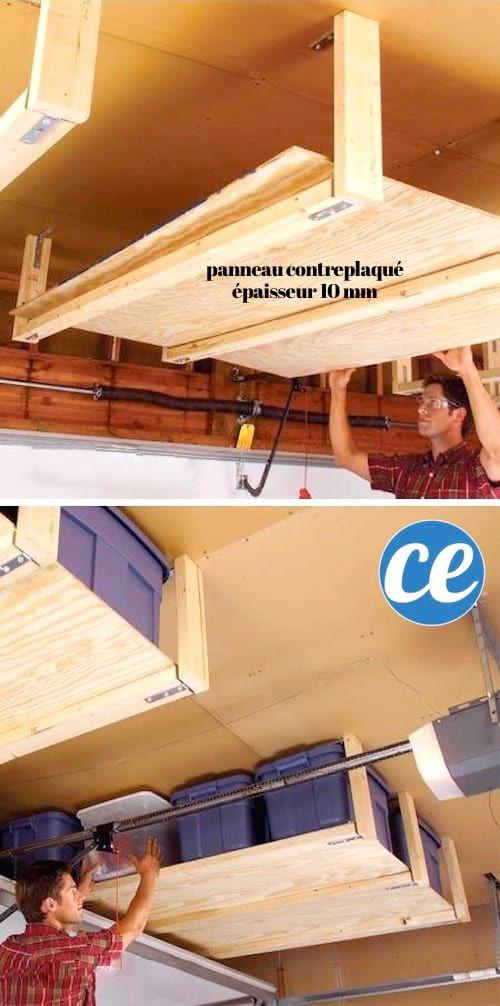 28 Super Idees De Rangement Pour Le Garage Ne Ratez Pas La N 25 Astuce Rangement Organisation De Garage Idee Rangement