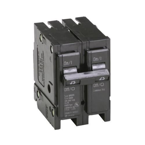 Eaton Br225 Plug On Mount Type Br Circuit Breaker 2 Pole 25 Amp 120 240 Volt Ac Circuit Eaton Breakers