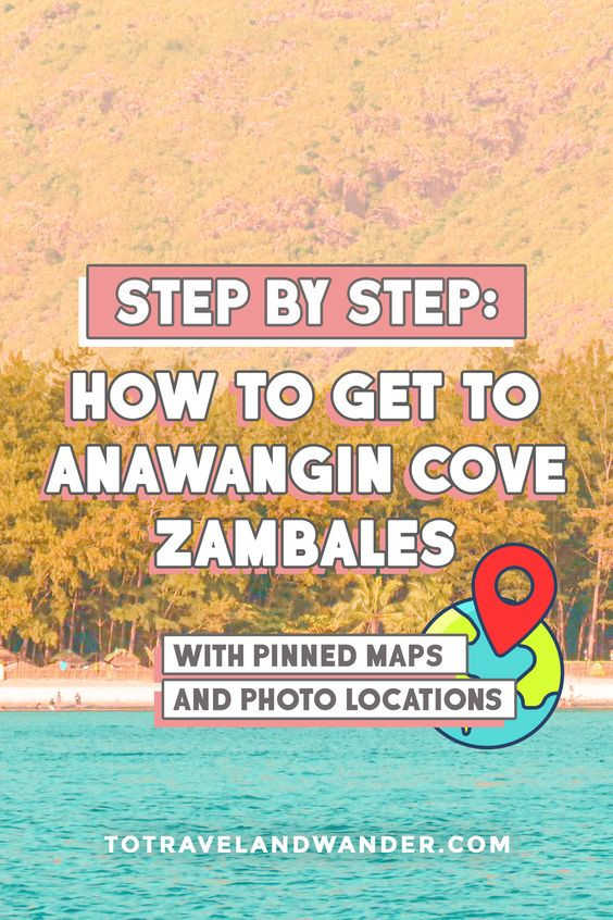 Step by Step: How To Get To Anawangin Cove