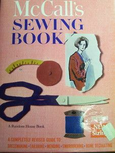 Vintage sewing book by McCall's, includes tips for tailoring, mending, and how to use presser feet for sewing machines. $10