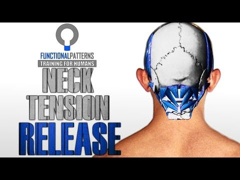 Myofascial Release: Tight Neck and Shoulder Self Treatment - YouTube