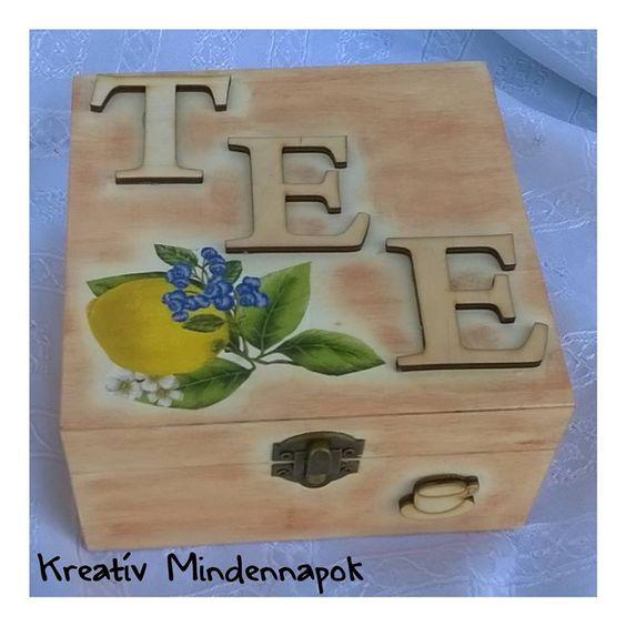 Teadoboz- Teabox - Ajándék egy tanító néninek