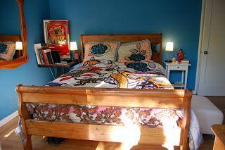 Benjamin moore electric blue bedroom remodel ideas for Electric blue bedroom ideas