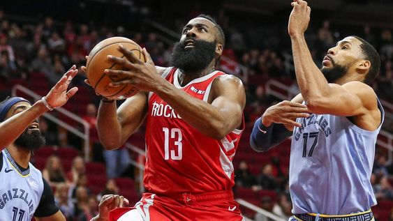 James Harden of Houston Rockets gets triple 50+ score