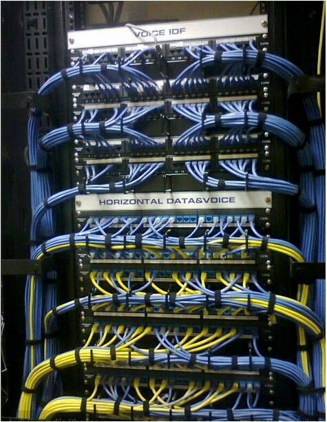 Awesome computer setups - Ocd Cable Management It Networks Pinterest Cable