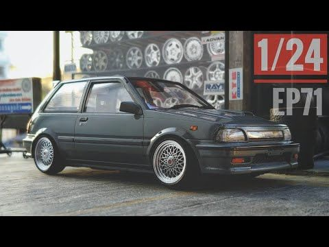 Toyota Starlet Ep71 Hasegawa Scale 1 24 Youtube Mobil Impian Mobil