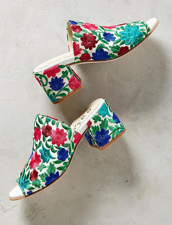 Perfect Colorful  Summer  Sandals