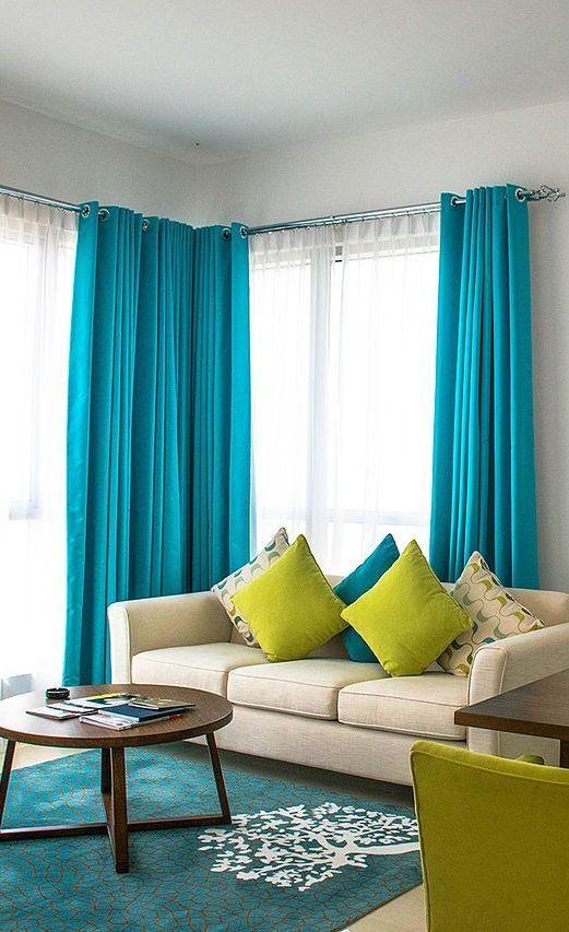 20 Inspiring Window Treatment Ideas For Living Room Contemporary Decor Living Room Types Of Window Treatments Window Treatments Living Room