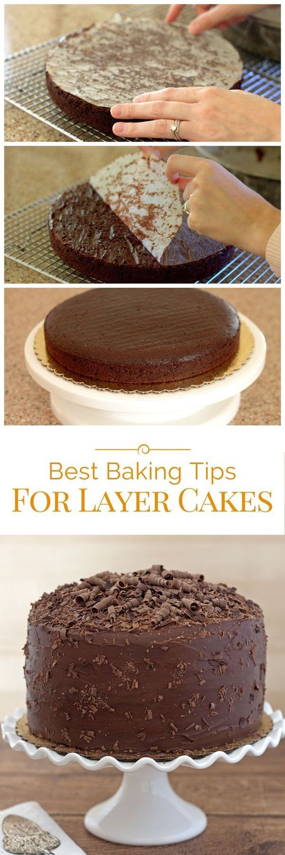 I'm sharing my favorite baking tips for layer cakes. I think you'll find a tip or two that can make baking layer cakes easier.