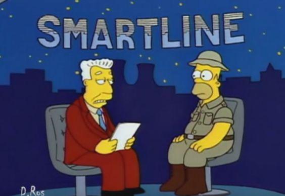 Rajoy-Alsina, versión los Simpson. Homer Simpson en el papel de Mariano Rajoy entrevistado.