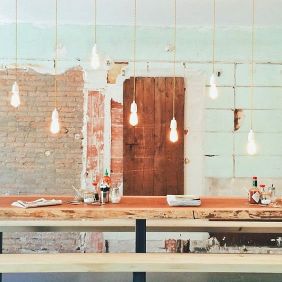 Une salle de bain pur e instagram lamps and coffee - Restaurant la cantine marseille ...