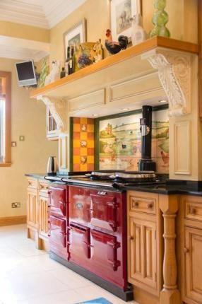 Love the shelf over the stove kitchen ideas pinterest for Kitchen ideas edinburgh