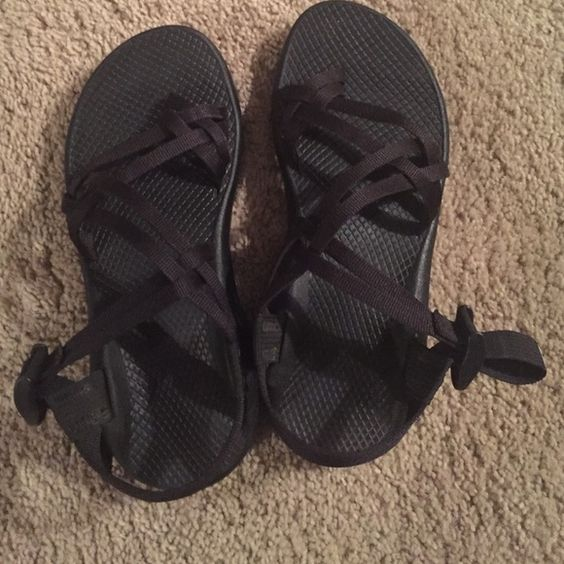 Black chacos Brand new, without tags. Never worn. Willing to negotiate. Chacos Shoes Sandals
