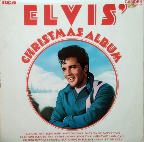 Elvis Presley The Christmas Album 2020 Elvis Presley ‎– Elvis' Christmas Album Camden ‎– CDS 1155 in 2020