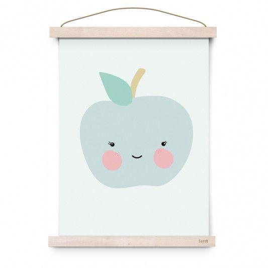 Apple Poster Print