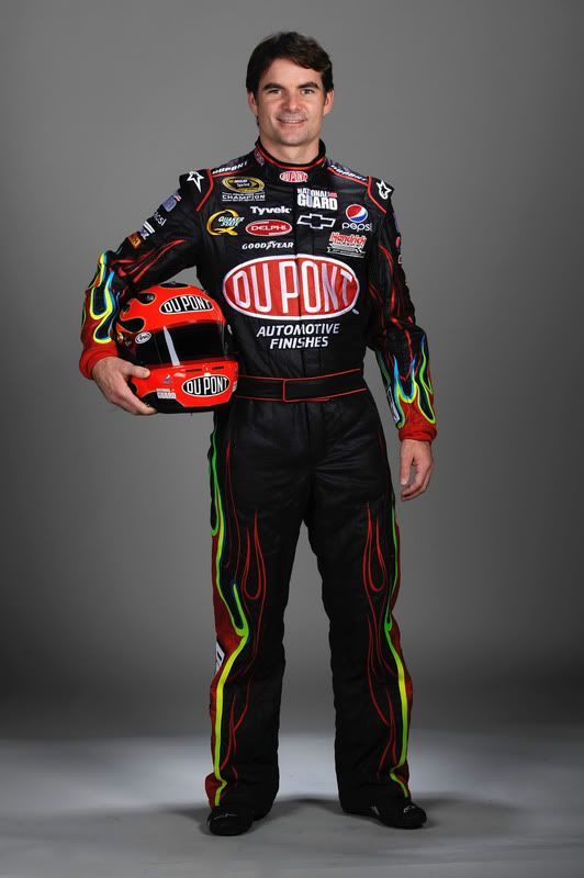 Jeff Gordon, suited up!!