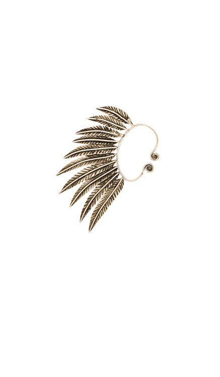 Natalie B Jewelry Pegasus Ear Cuff in Silver   REVOLVE