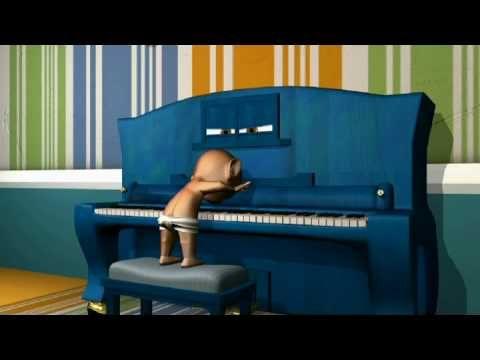 Historia de amor entre un piano y una estudiante de música.