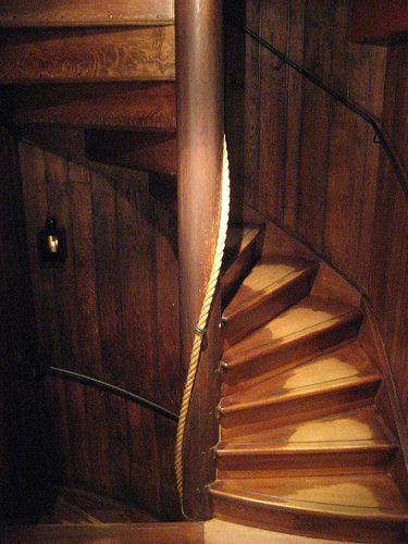 #RembrandtHouse Staircase at the Rembrandt House