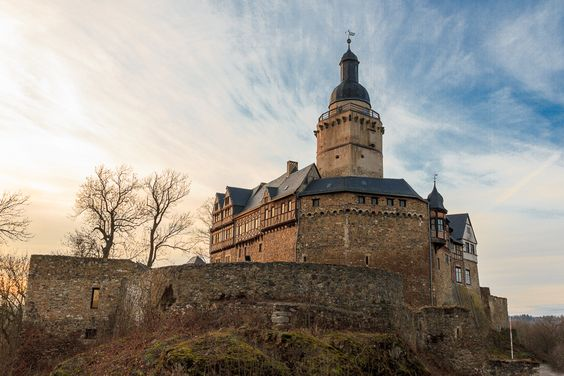 Falkenstein Castle, Germany Falkenstein was built between 1120 and 1180 and has been modified frequently since then, but still retains the character of a medieval castle. It has a commanding location and was never captured.  © Röslein Burg Falkenstein / Harz von röslein