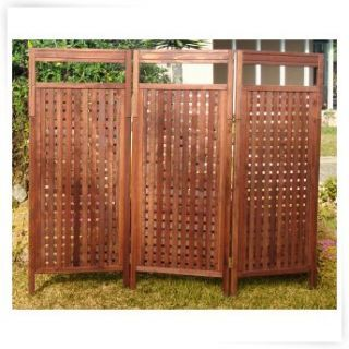 Free standing privacy screen for hot tub outdoors yard for Free standing screen
