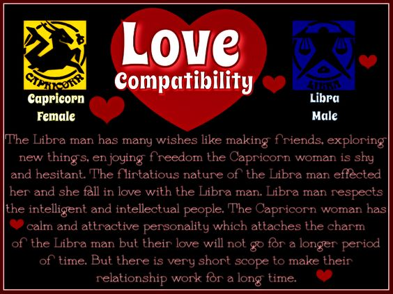 male libra and female capricorn