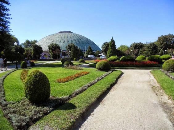 Porto - Portugal - Jardins do Palácio de Cristal do Porto | Sidewalk Safari
