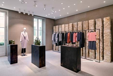 Giada Milan fashion boutique interior design by Claudio Silvestrin | Store,  Retail and Dezeen