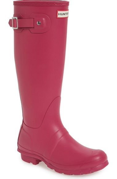 Hunter 'Original Tall' Rain Boot (Women) available at #Nordstrom