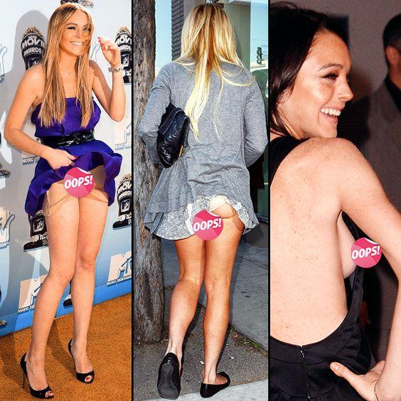 exposed 24 flashiest wardrobe malfunctions ew galleries pinterest