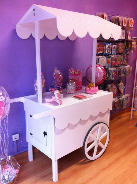 candy bar carrito - Buscar con Google